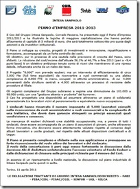 documento unitario piano d'impresa