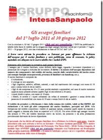 assegni familiari 2011 2012
