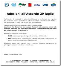 adesioni accordo esodi