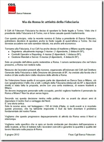Fiduciaria via da Roma