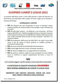 Torino le ragioni dello sciopero