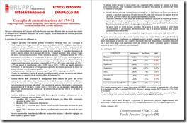 consiglio fondo pensioni sanpaolo