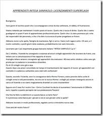 COMUNICATO STAMPA APPRENDISTI