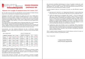 fondo pensioni ottobre 2013