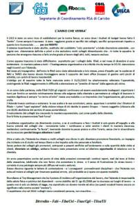 CARISBO - L'ANNO CHE VERRA'...