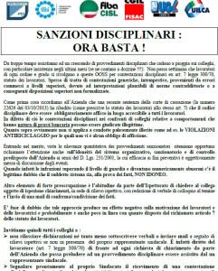 sanzioni disciplinari: ora basta!