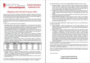 cda fondo pensioni marzo 14