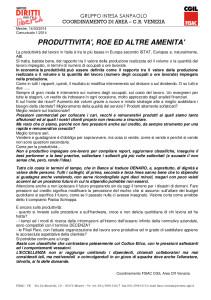 comunicato 1 2014 PRODUTTIVITA