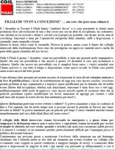 """Banca CRFirenze: Filiale di """"Nuova Concezione"""" ...un caos che non si calma"""