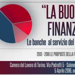Convegno sulla Buona Finanza